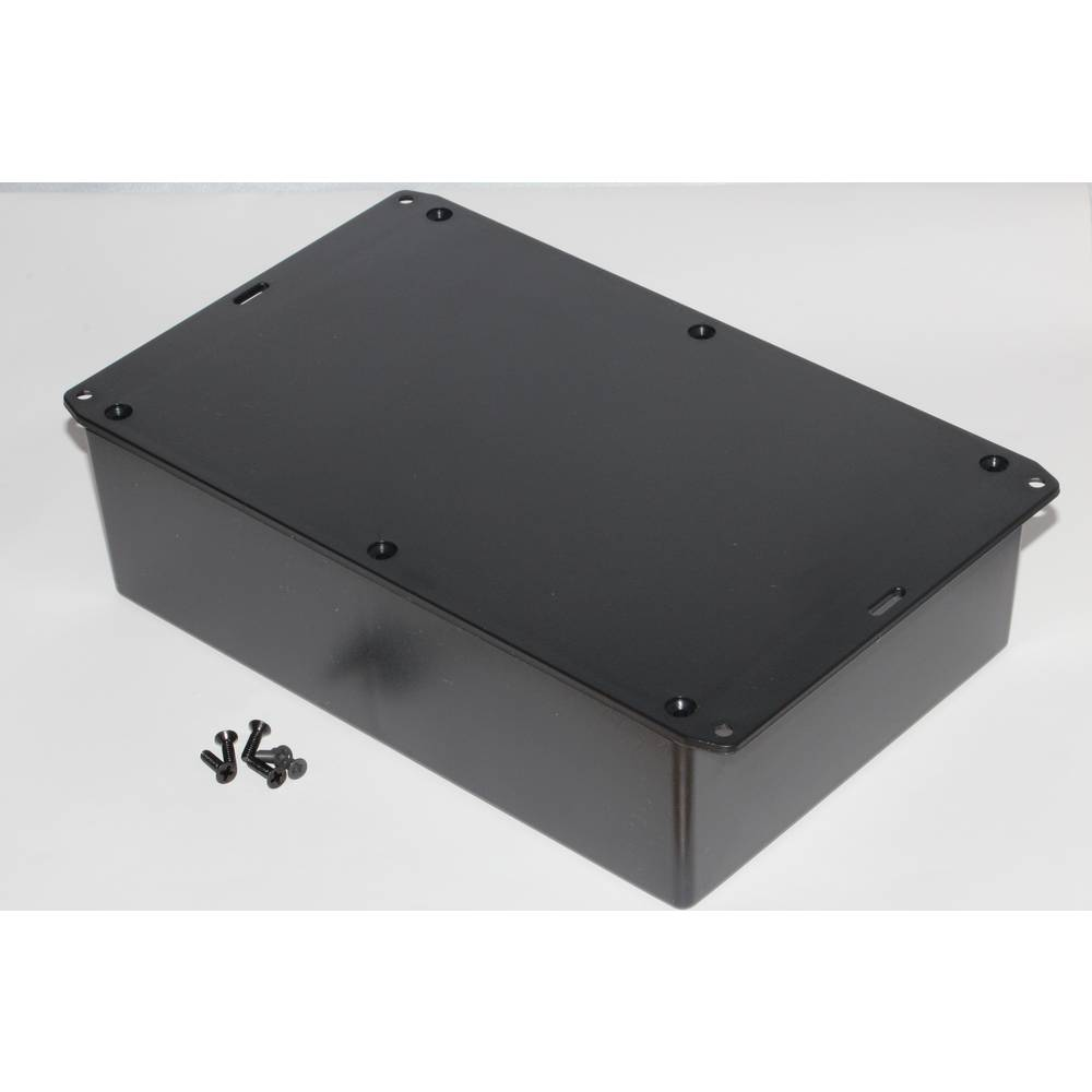 Universalkabinet 221 x 150 x 64 ABS Sort Hammond Electronics 1591XXFFLBK 1 stk