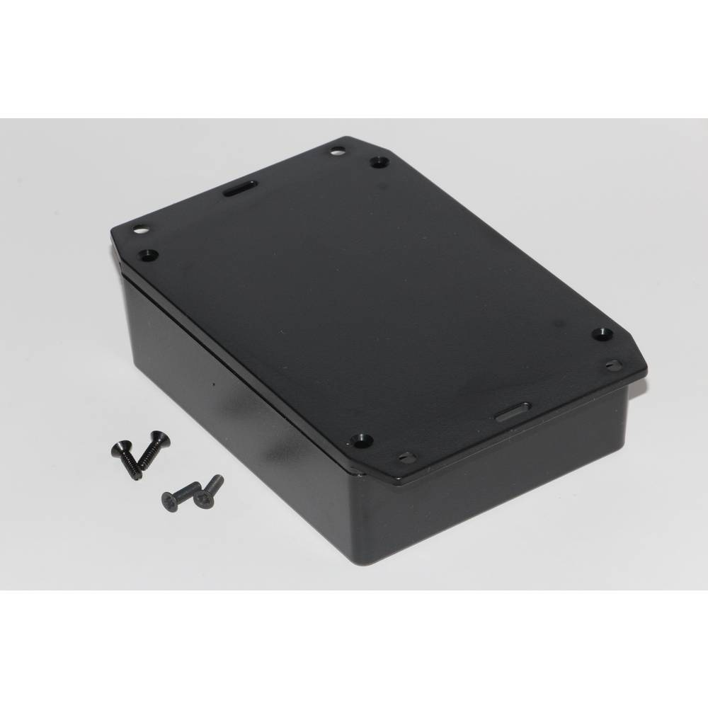 Universalkabinet 121 x 94 x 34 ABS Sort Hammond Electronics 1591XXGFLBK 1 stk