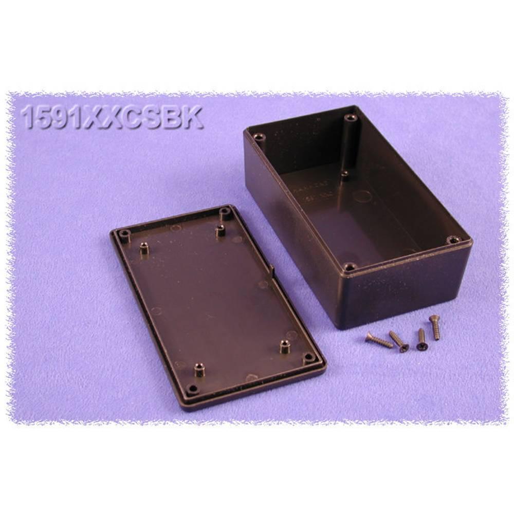 Universalkabinet 121 x 66 x 41 ABS Sort Hammond Electronics 1591XXCSBK 1 stk