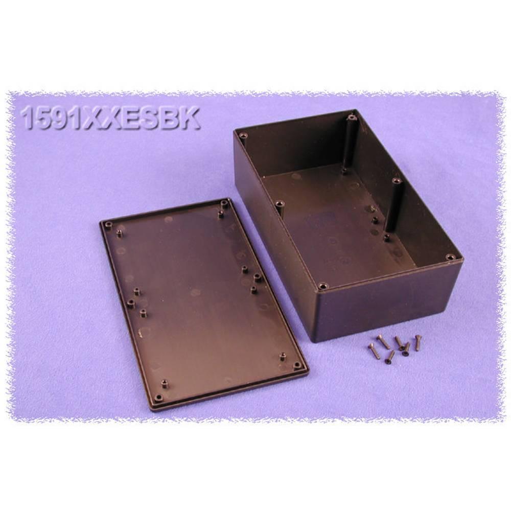 Universalkabinet 193 x 113 x 62 ABS Sort Hammond Electronics 1591XXESBK 1 stk