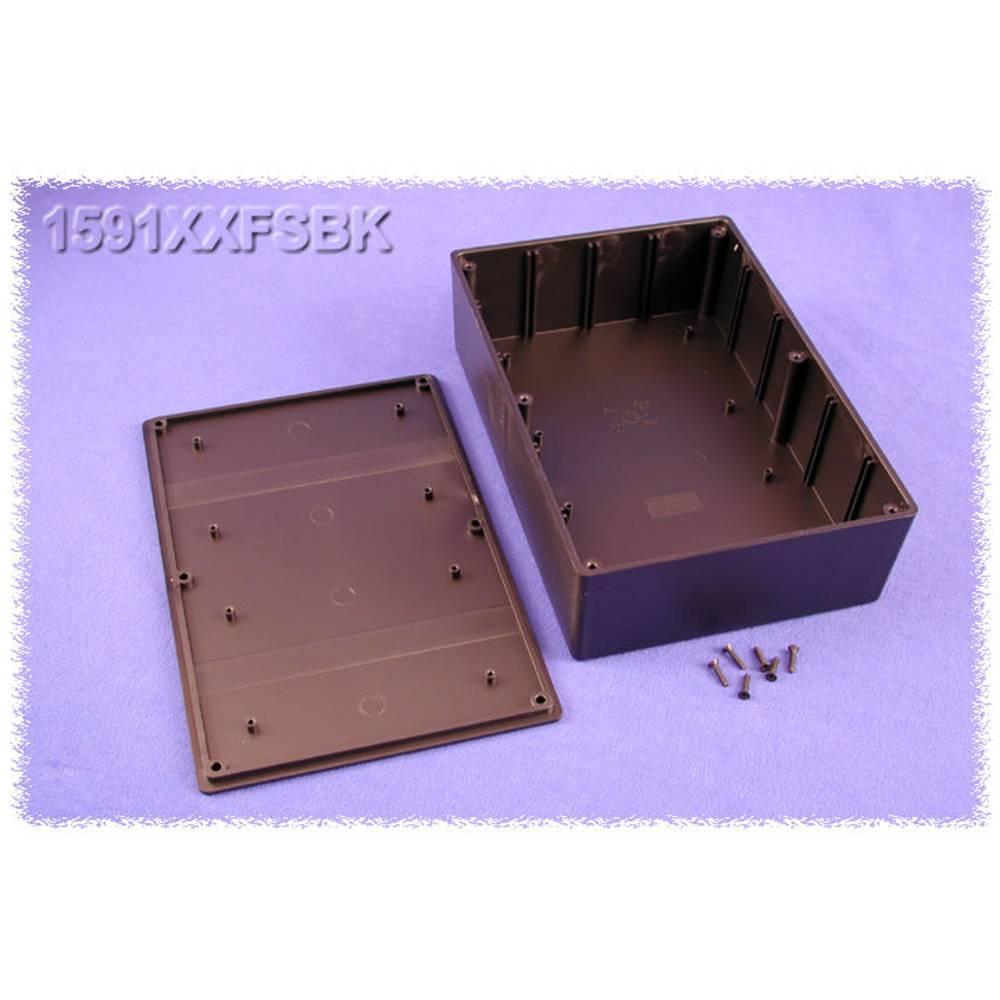 Universalkabinet 221 x 150 x 64 ABS Sort Hammond Electronics 1591XXFSBK 1 stk