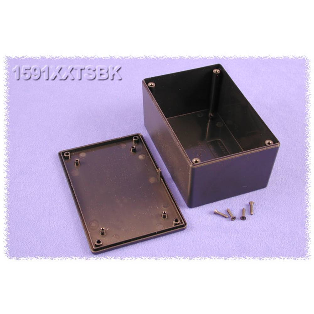 Universalkabinet 123 x 83 x 60 ABS Sort Hammond Electronics 1591XXTSBK 1 stk