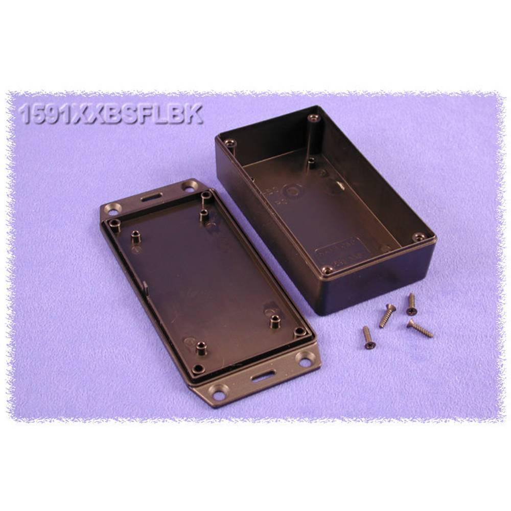 Universalkabinet 113 x 63 x 32 ABS Sort Hammond Electronics 1591XXBSFLBK 1 stk