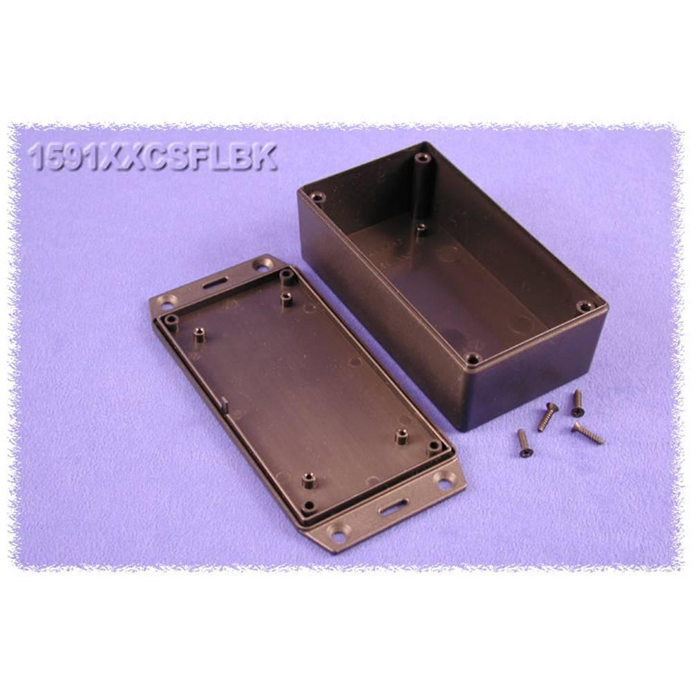 Universalkabinet 121 x 66 x 41 ABS Sort Hammond Electronics 1591XXCSFLBK 1 stk