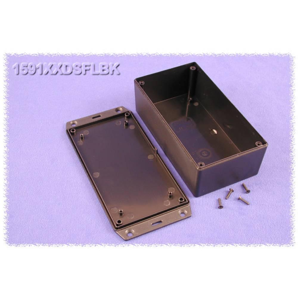 Universalkabinet 152 x 82 x 51 ABS Sort Hammond Electronics 1591XXDSFLBK 1 stk