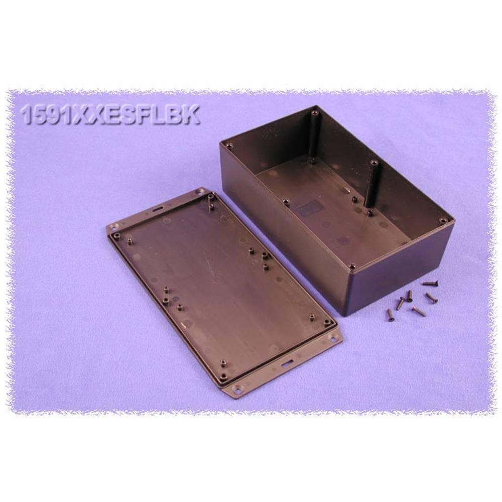 Universalkabinet 193 x 113 x 62 ABS Sort Hammond Electronics 1591XXESFLBK 1 stk