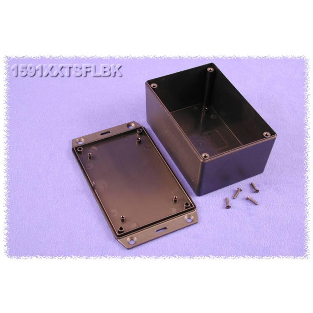 Universalkabinet 123 x 83 x 60 ABS Sort Hammond Electronics 1591XXTSFLBK 1 stk