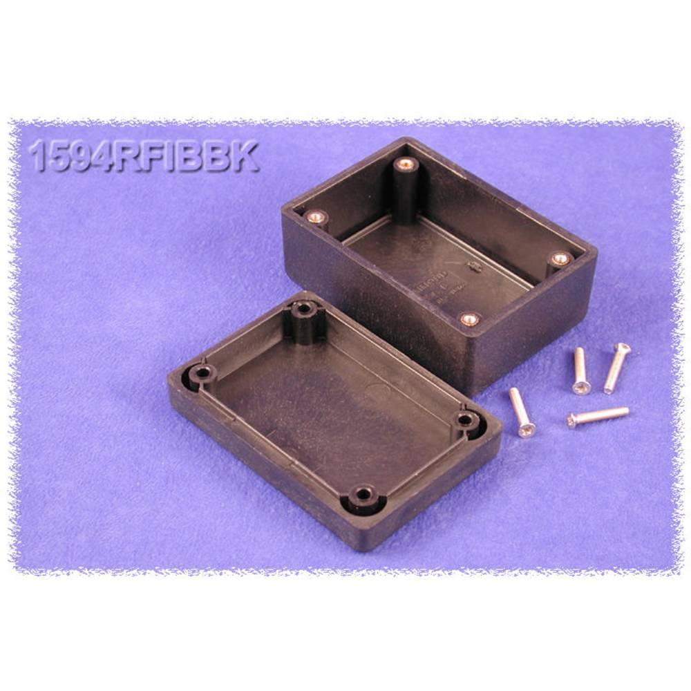 Universalkabinet 81 x 56 x 40 ABS Sort Hammond Electronics 1594RFIBBK 1 stk