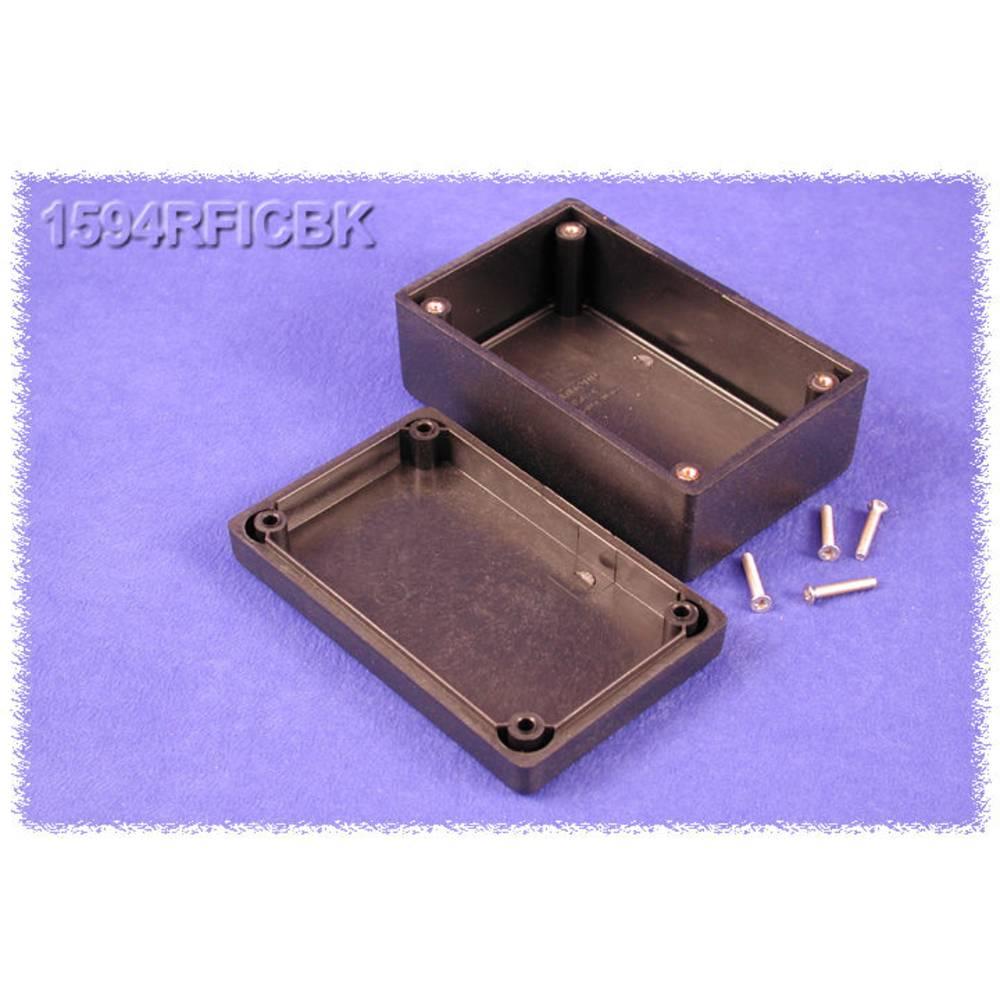 Universalkabinet 105 x 66 x 45 ABS Sort Hammond Electronics 1594RFICBK 1 stk