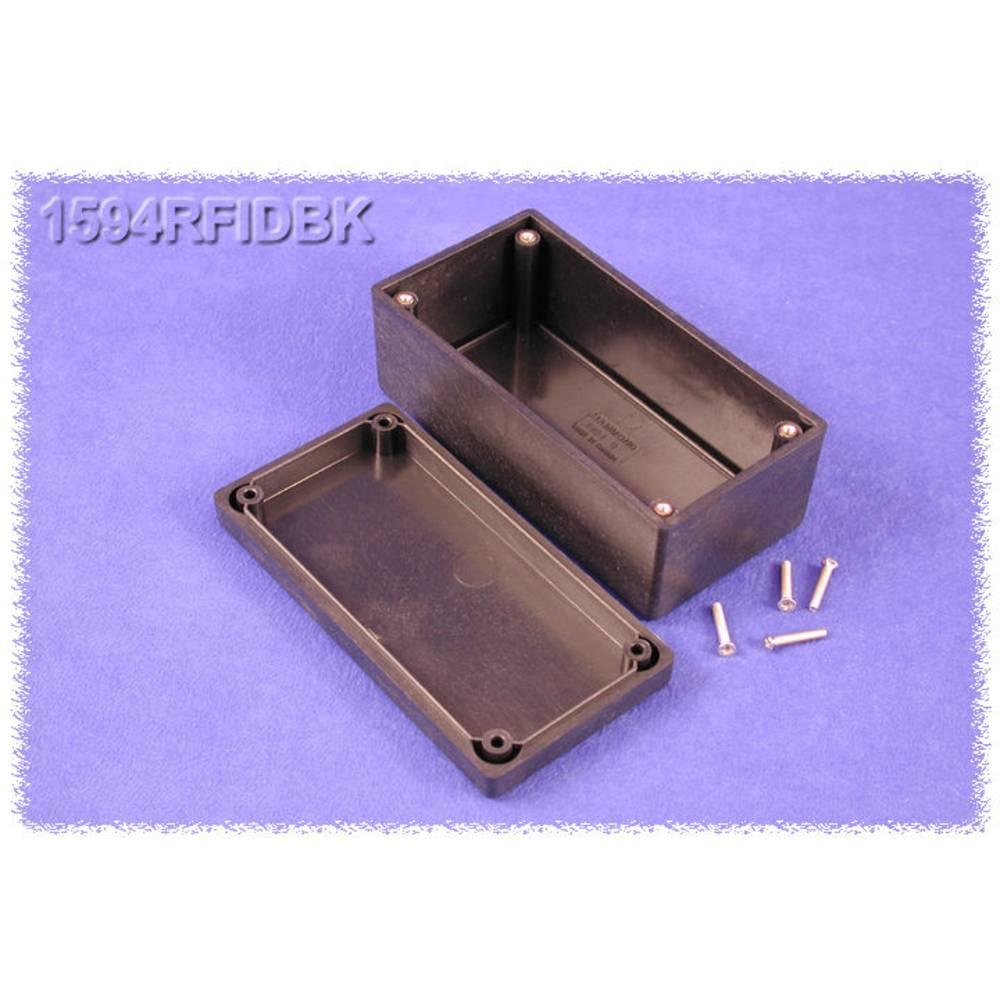 Universalkabinet 131 x 66 x 55 ABS Sort Hammond Electronics 1594RFIDBK 1 stk