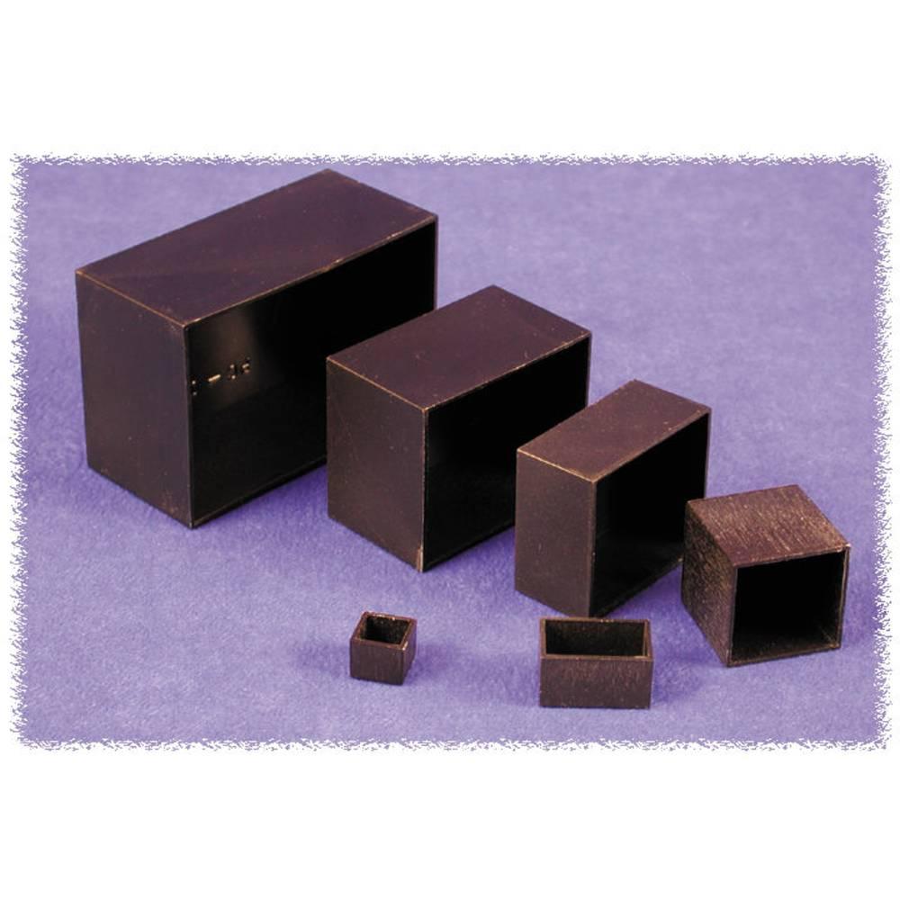 Støbt kabinet 25 x 25 x 25 ABS Sort Hammond Electronics 1596B112 1 stk