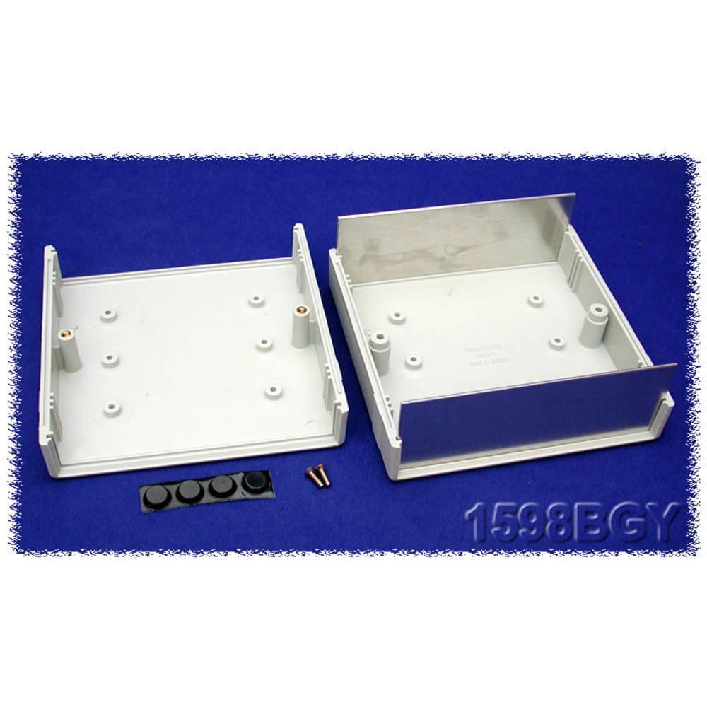 Instrumentkabinet 134 x 135 x 50 ABS Grå Hammond Electronics 1598BGY 1 stk