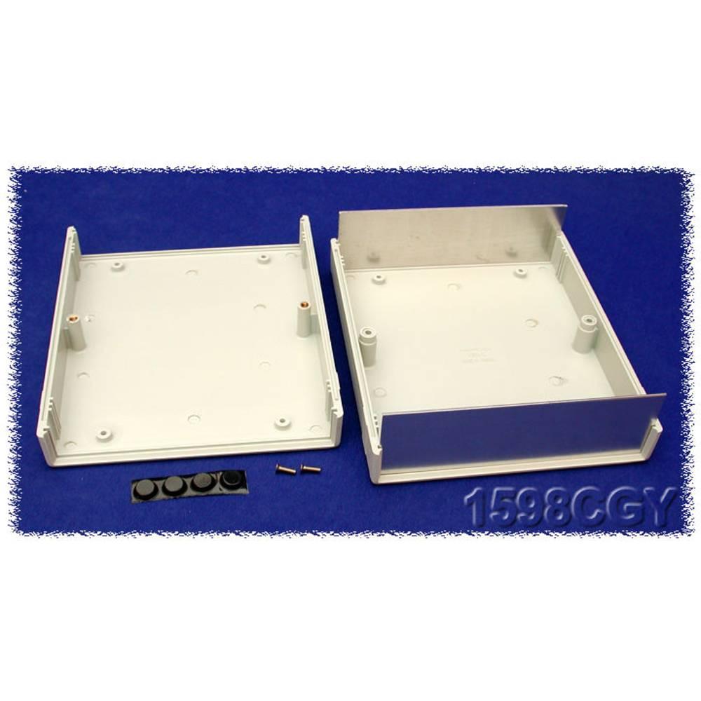 Instrumentkabinet 180 x 155 x 52 ABS Grå Hammond Electronics 1598CGY 1 stk