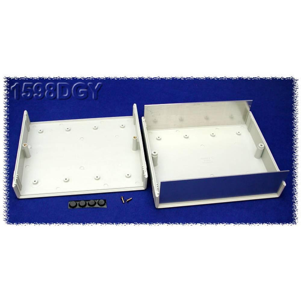 Instrumentkabinet 180 x 206 x 64 ABS Grå Hammond Electronics 1598DGY 1 stk