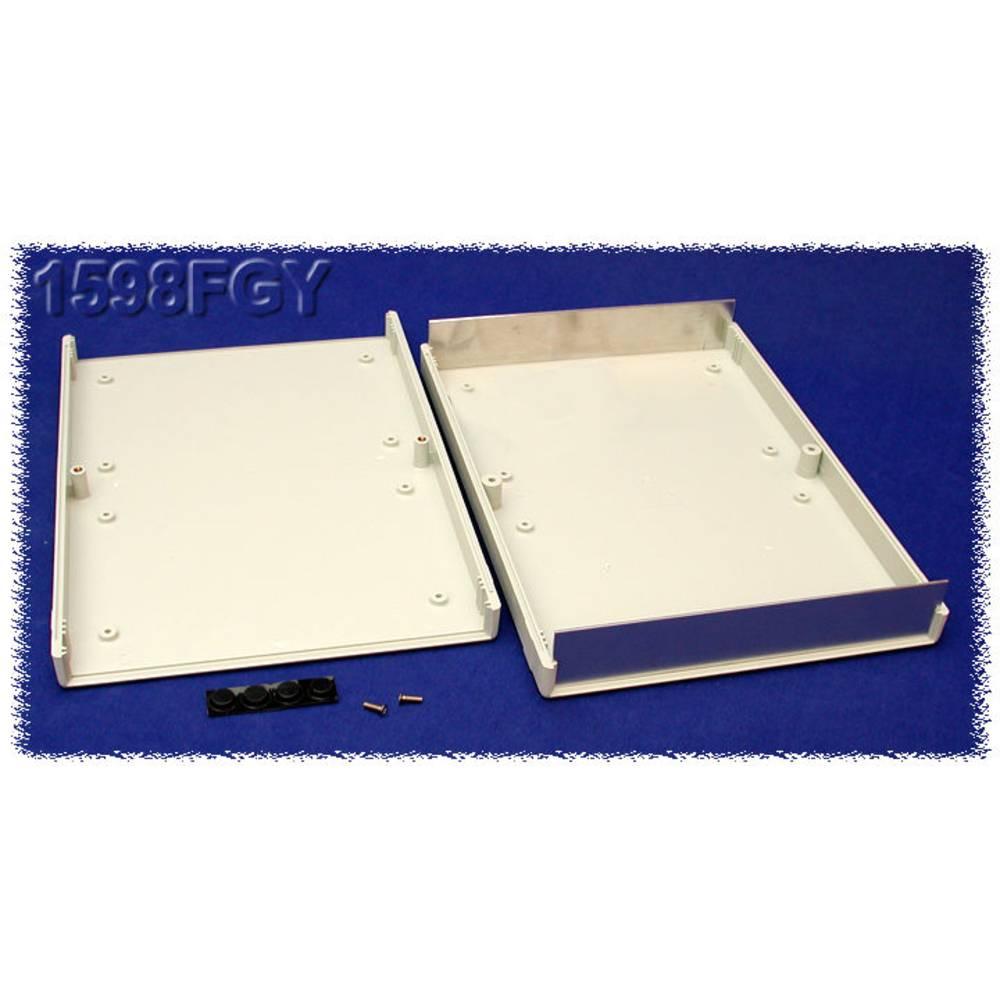 Instrumentkabinet 250 x 160 x 40 ABS Grå Hammond Electronics 1598FGY 1 stk