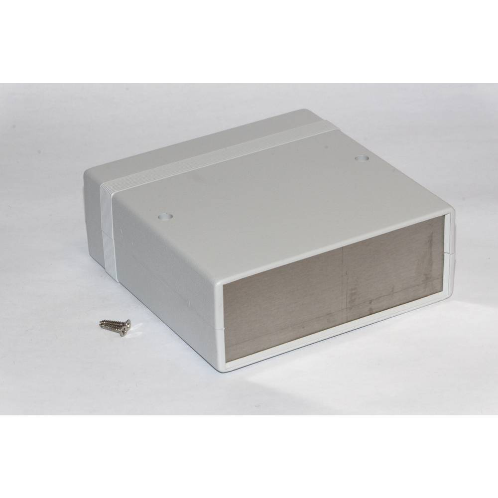 Instrumentkabinet 179 x 154 x 36 ABS Grå Hammond Electronics 1598BBSGY 1 stk