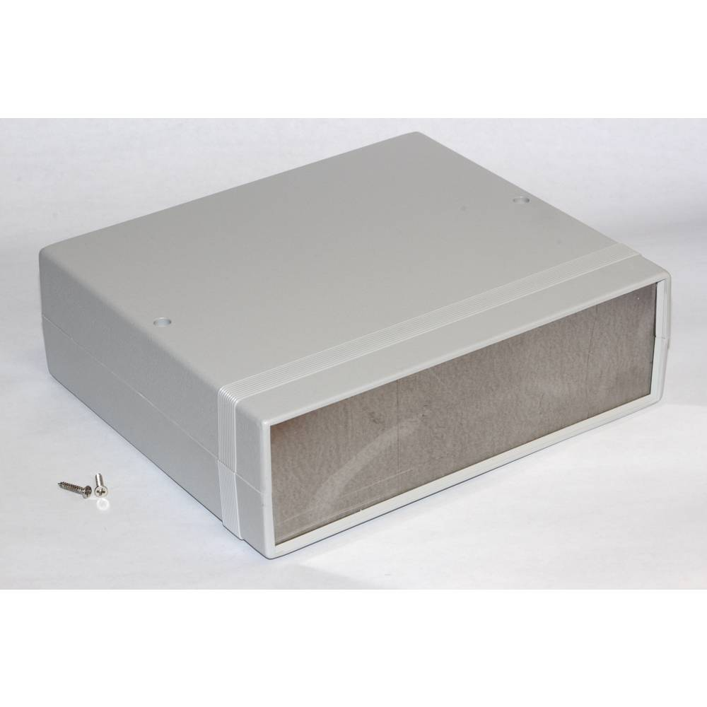 Instrumentkabinet 180 x 206 x 64 ABS Grå Hammond Electronics 1598DSGY 1 stk