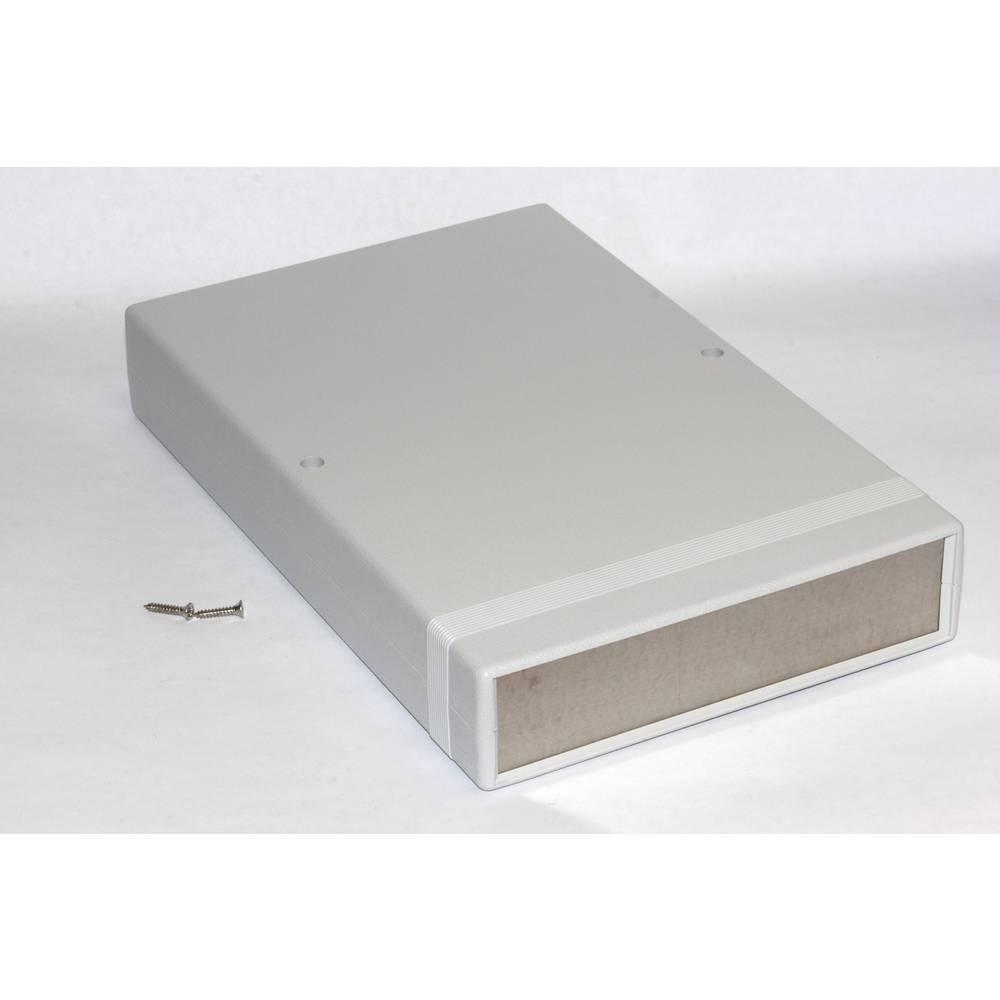 Instrumentkabinet 250 x 160 x 40 ABS Grå Hammond Electronics 1598FSGY 1 stk
