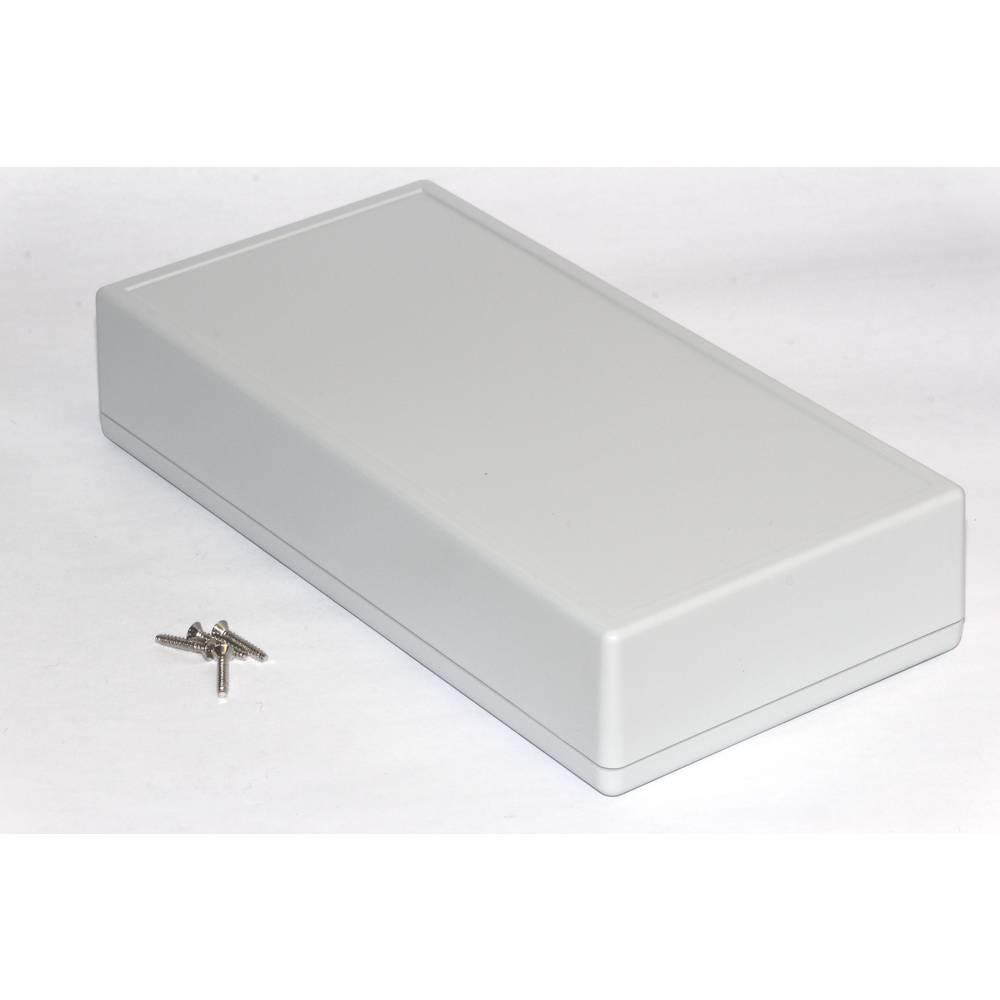Hånd-kabinet Hammond Electronics 1599HGYBAT 220 x 110 x 44 ABS Grå 1 stk