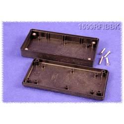 Hånd-kabinet Hammond Electronics 1599RFIBBK 130 x 65 x 25 ABS Sort 1 stk