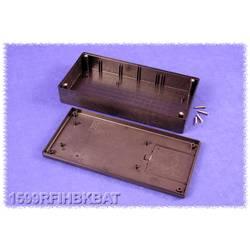 Hånd-kabinet Hammond Electronics 1599RFIHBKBAT 220 x 110 x 44 ABS Sort 1 stk
