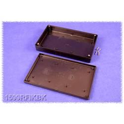 Hånd-kabinet Hammond Electronics 1599RFIKBK 220 x 140 x 40 ABS Sort 1 stk