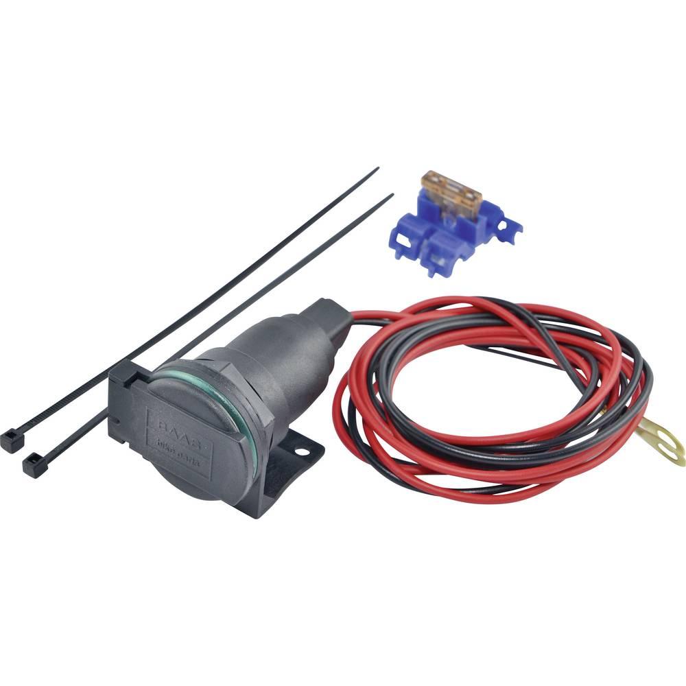 BAAS Vtičnica za cigaretni vžigalnik s cevnim držalom ZA02 maks. tokovna obremenitev: 5 A za cigaretni vžigalnik