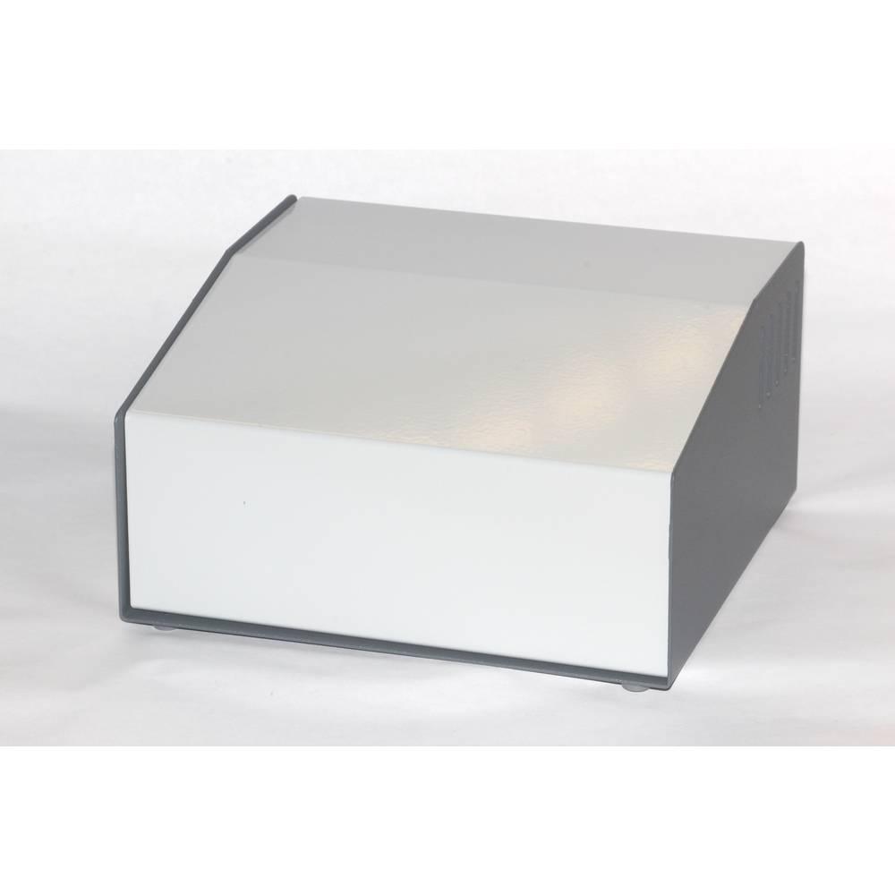 Pult-kabinet Hammond Electronics 500-0940 183 x 192 x 100 Aluminium Grå 1 stk