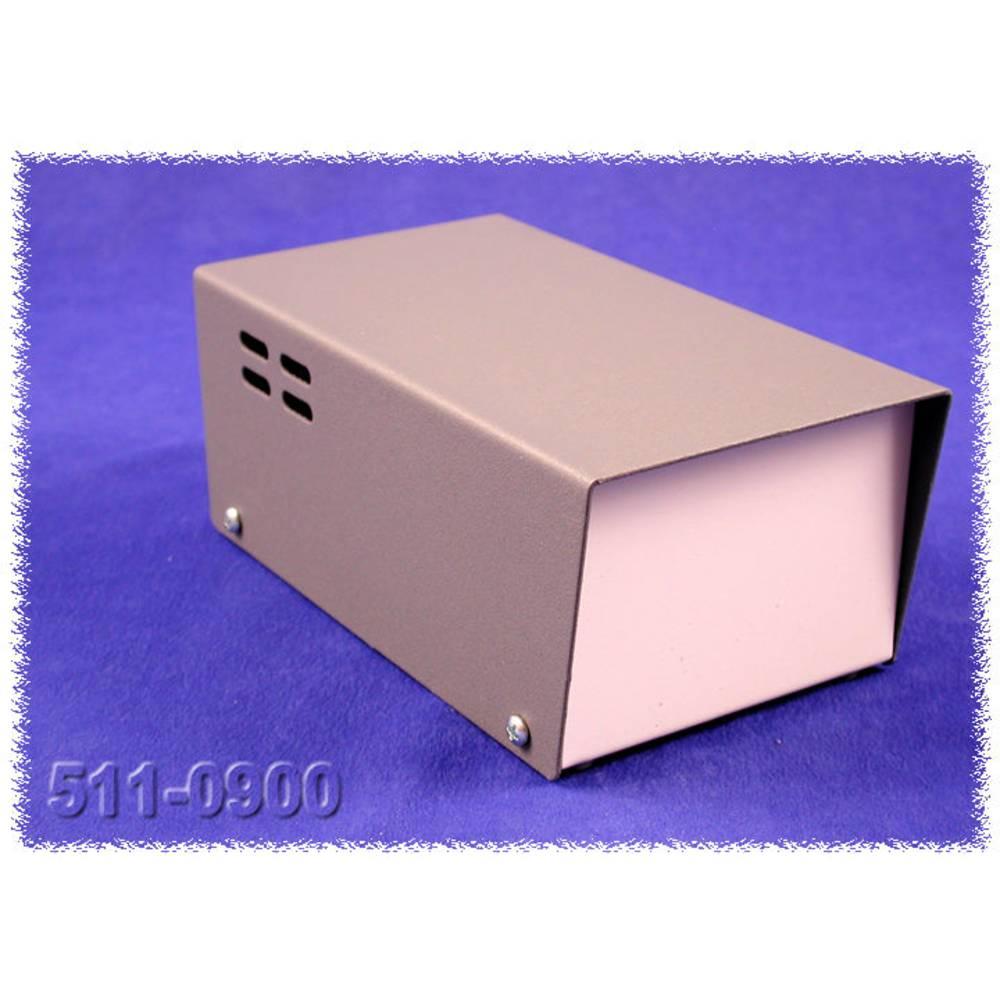 Transformatorkabinet 165 x 92 x 70 Stål Grå Hammond Electronics 511-0900 1 stk