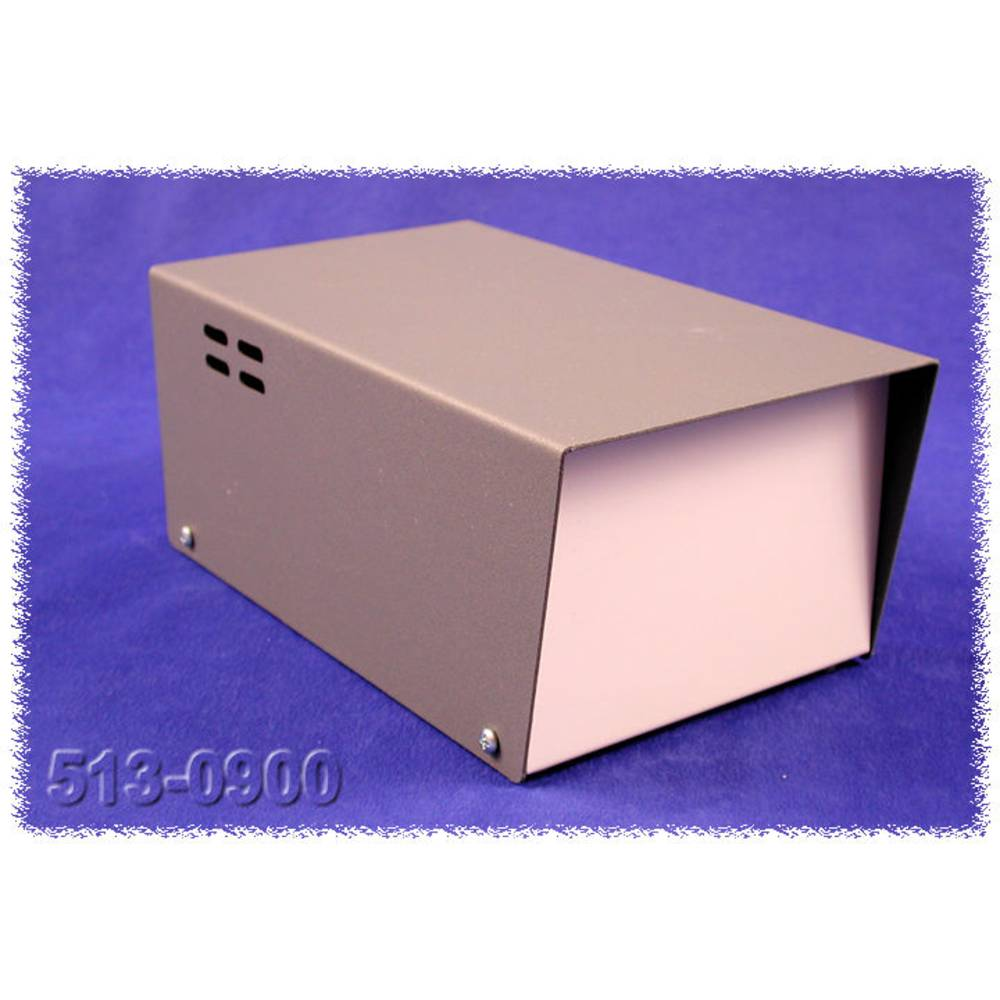 Transformatorkabinet 200 x 121 x 89 Stål Grå Hammond Electronics 513-0900 1 stk