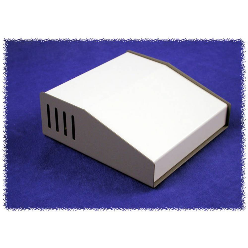 Pult-kabinet Hammond Electronics 515-0910 157 x 116 x 58 Aluminium Grå 1 stk