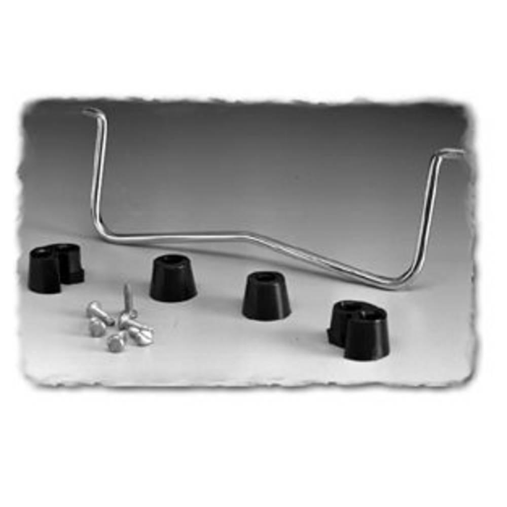 Monteringsdel Hammond Electronics 1427D10 Krom (L x B x H) 241.34 x 5 x 63.53 mm 1 stk