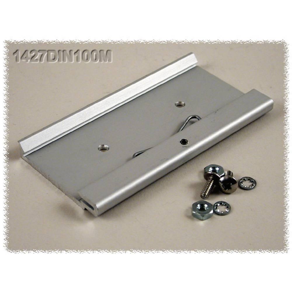DIN-clip Hammond Electronics 1427DIN100M Til montering på DIN-skinne. 1 stk