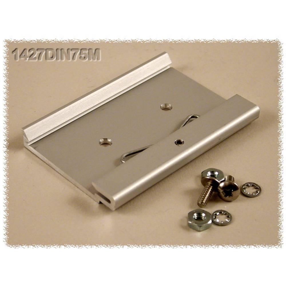 DIN-clip Hammond Electronics 1427DIN75M Til montering på DIN-skinne. 1 stk