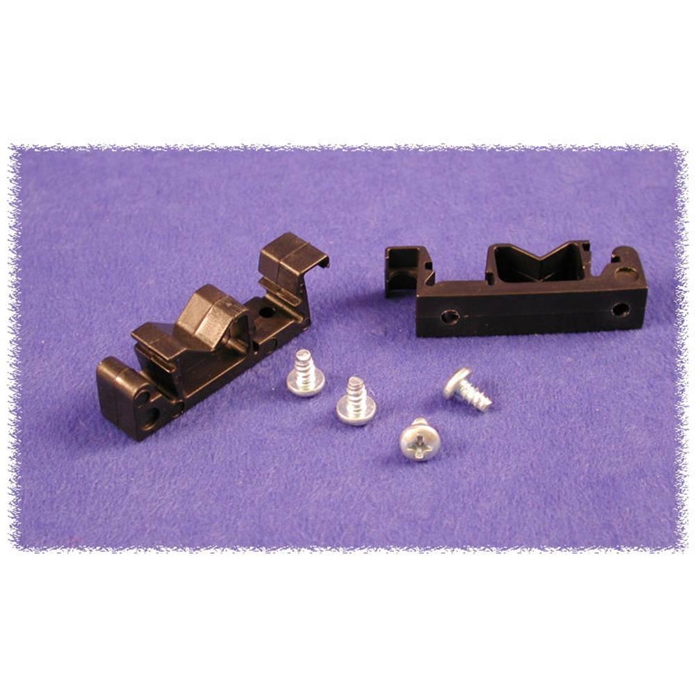 DIN-clip Hammond Electronics 1427DINCLIP Til montering på DIN-skinne. 2 stk