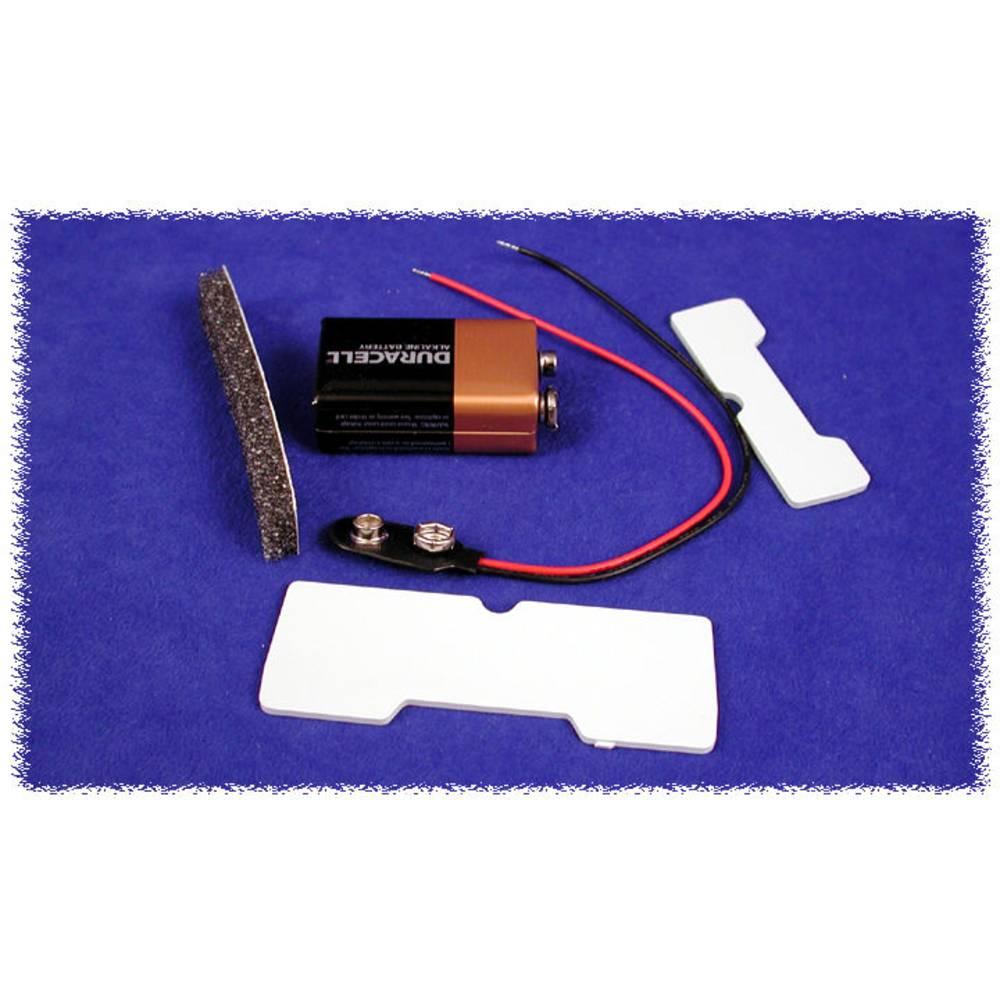 Batteriholder Hammond Electronics BS61 BS61 1 x 9 V-batteri Plast Sort 1 stk