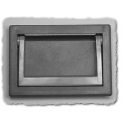 Klapgreb Hammond Electronics M263-1 Sort (L x B x H) 130.5 x 20.66 x 91.5 mm 1 stk