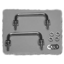 Kabinetgreb Hammond Electronics M286-6 Sølv (L x B x H) 118 x 10 x 47.17 mm 1 stk