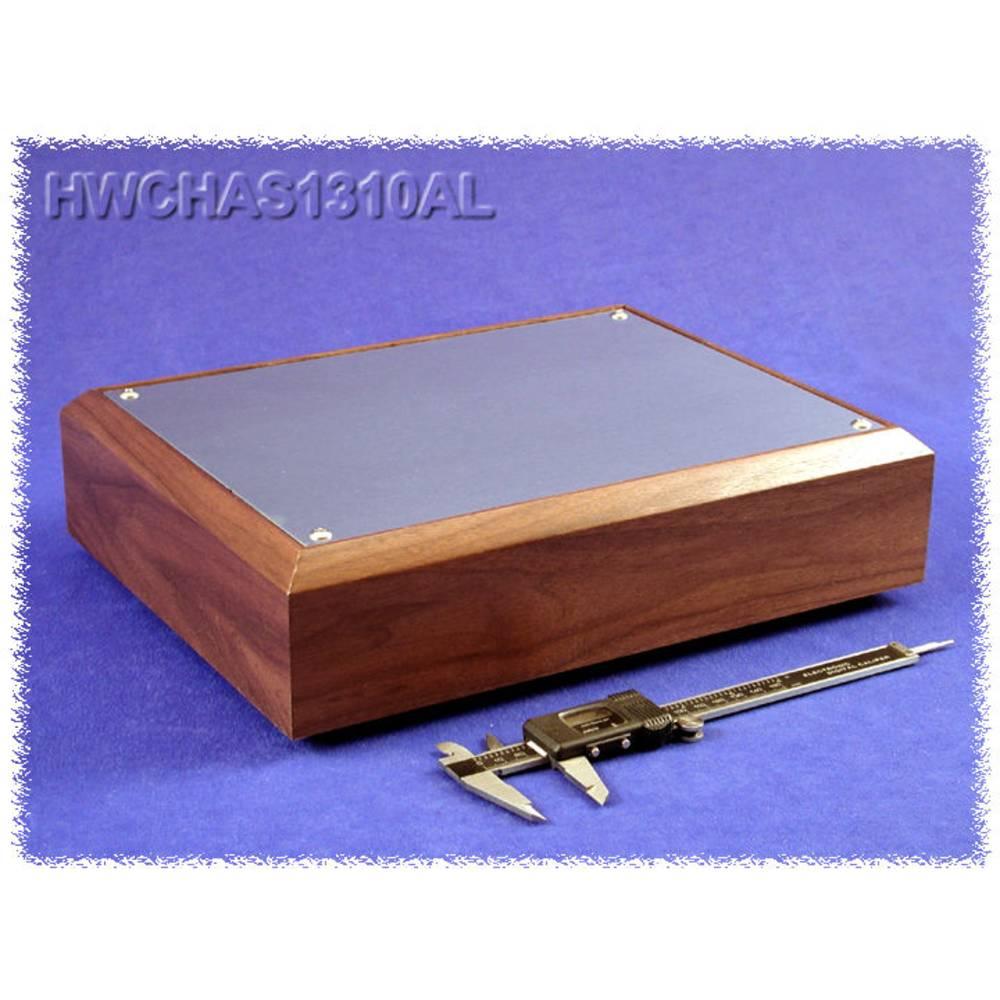 Bundplade 330 x 254 x 76 Aluminium Natur Hammond Electronics HWCHAS1310AL 1 stk