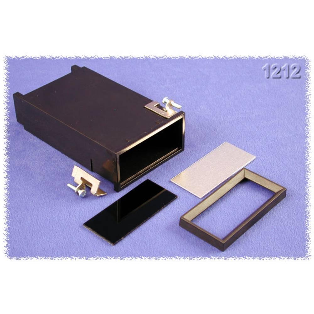 Universalkabinet 120 x 72 x 36 ABS Sort Hammond Electronics 1212 1 stk