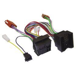 aktivni iso adapterski kabel za radio AIV Primerno za (znamka avtomobila): Audi, BMW, Ford, MINI, Opel, Seat, Skoda, Volkswagen
