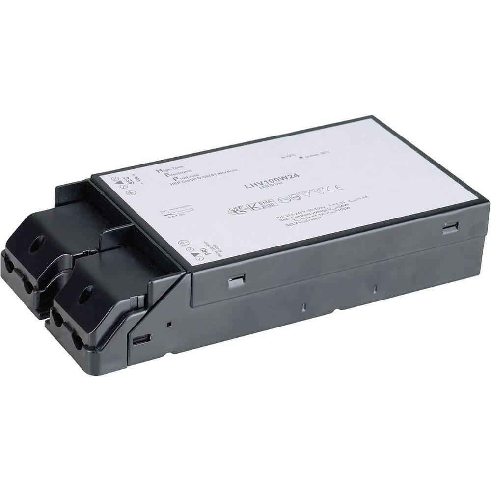 LED napajanje za LED trake SLV 100 W, 24 V 470500 crna