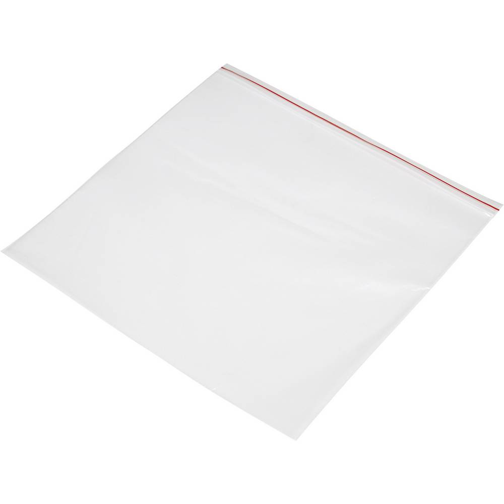 Tryklukningspose uden tekstlabels (B x H) 250 mm x 250 mm Polyetylen Transparent 1 stk