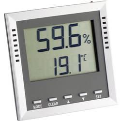 Digitalni termometar/vlagomjer, TFA 'Klima Guard' srebrni