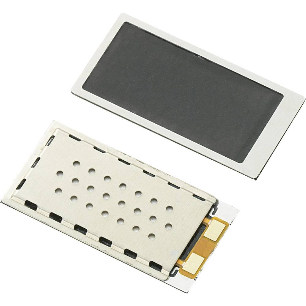 Piezokeramični miniaturni zvočnik, glasnost 92 dB, 1 kHz, 1 kos