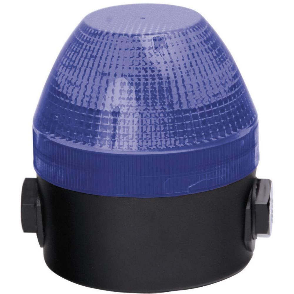 Signalna luč Auer Signalgeräte NES modra neprekinjena luč, utripajoča luč 24 V/DC, 24 V/AC, 48 V/DC, 48 V/AC