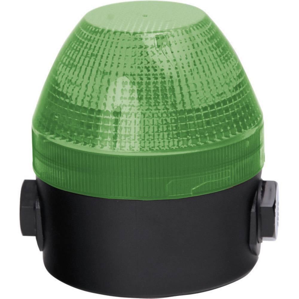 Signalna luč Auer Signalgeräte NES zelena neprekinjena luč, utripajoča luč 110 V/AC, 230 V/AC
