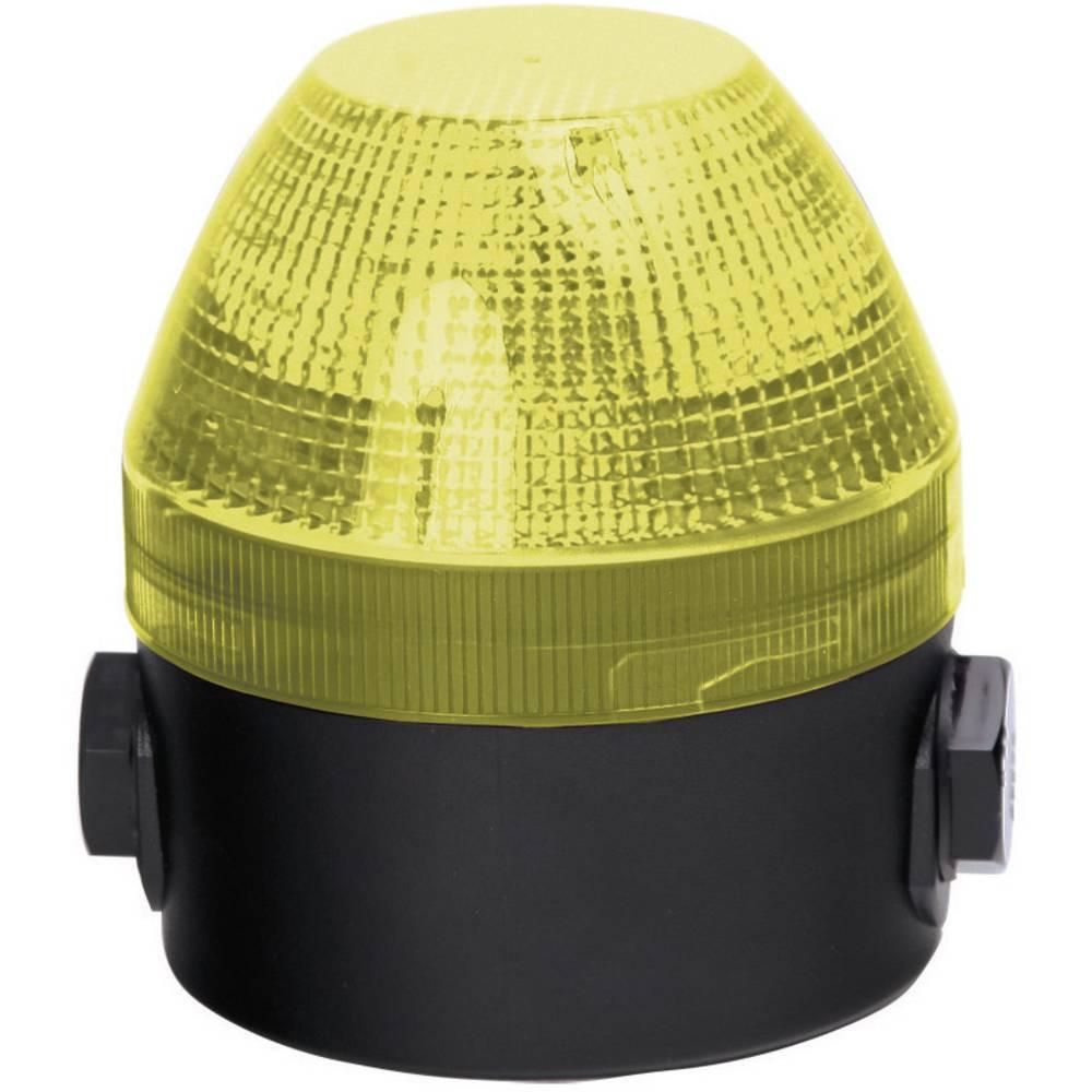 Signalna luč Auer Signalgeräte NES rumena neprekinjena luč, utripajoča luč 24 V/DC, 24 V/AC, 48 V/DC, 48 V/AC