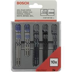 10-delars Sticksågbladsset för trä och metall Bosch Accessories 2607010148 1 set