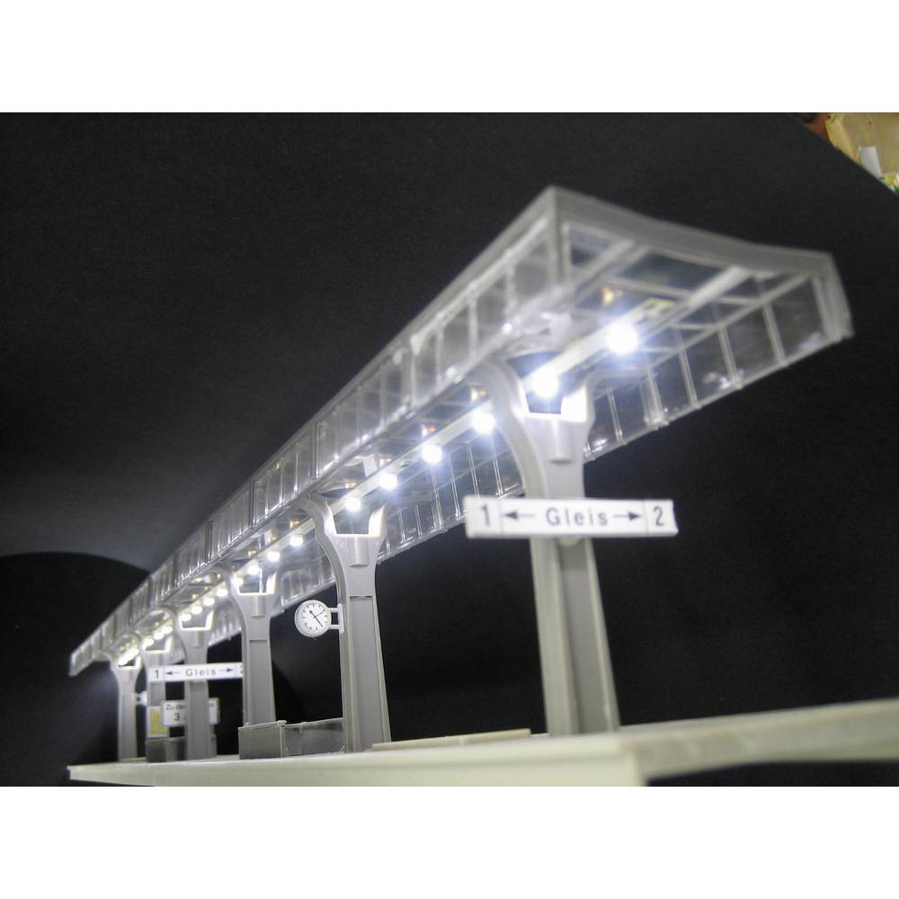 Osvetlitev perona s 5 rumenimi LED, 72084